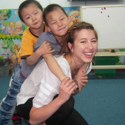 Charlotte N in China